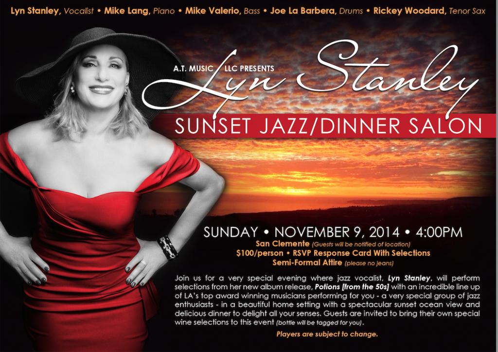 Invitation Sunset Jazz Salon