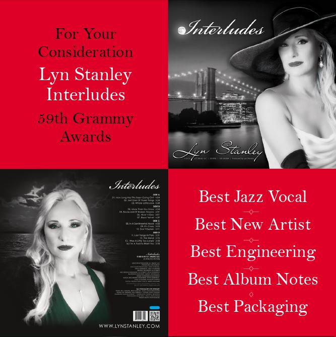 Lyn Stanley entered Grammy Awards
